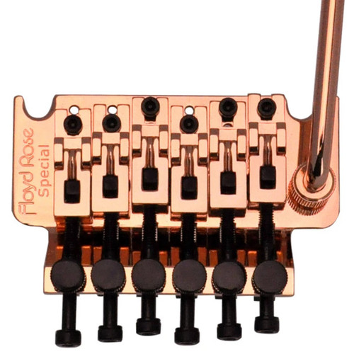 Floyd Rose FRTS3100R3 Special Series Tremolo System with R3 Locking Nut, Rose Gold (FRTS3100R3)