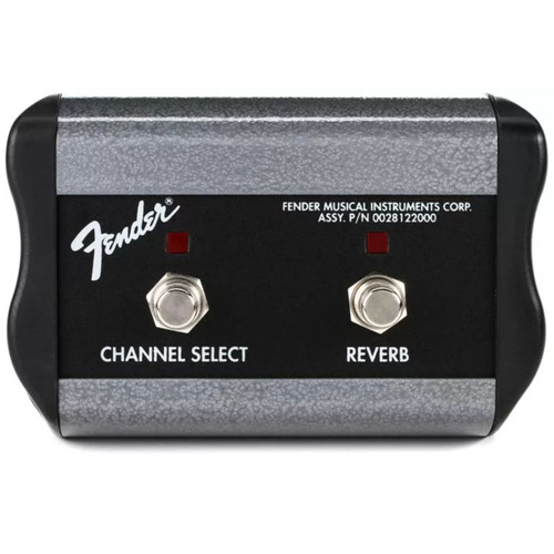 "Fender 2-Button Channel/Reverb Footswitch with 1/4"" Jack (099-4056-000)"