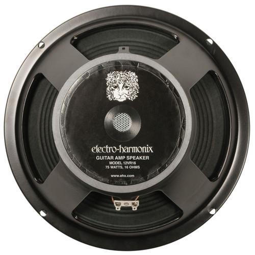 """Electro-Harmonix 12VR16 12"""" Guitar Amplifier Speaker, 75-Watt 16 Ohm (12VR16)"""