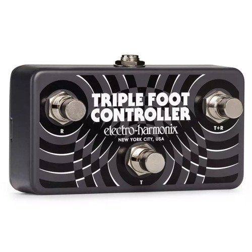 Electro-Harmonix Triple Foot Controller Remote Footswitch Pedal (TRI CNTLR)