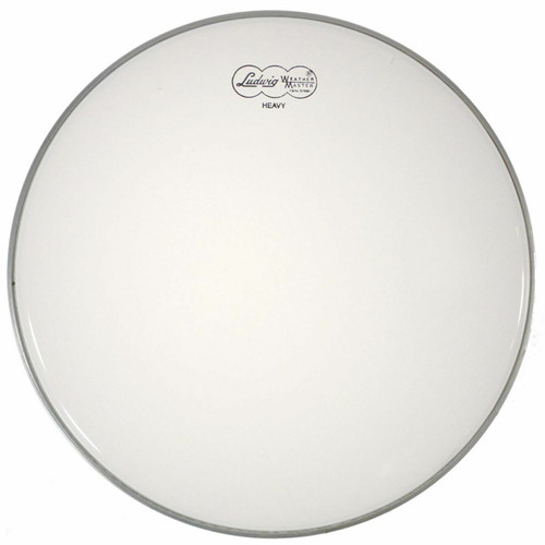 """Ludwig LW4312 Weather Master Coated 12"""" Heavy Weight Batter Drum Head (LW4312)"""