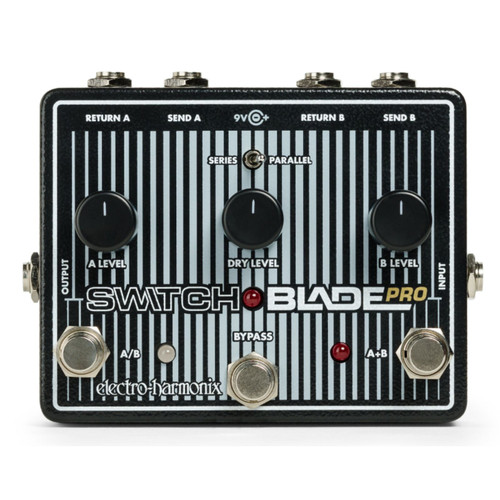 Electro-Harmonix Switchblade Pro Deluxe Switcher Pedal (SWITCHBLADE PRO)