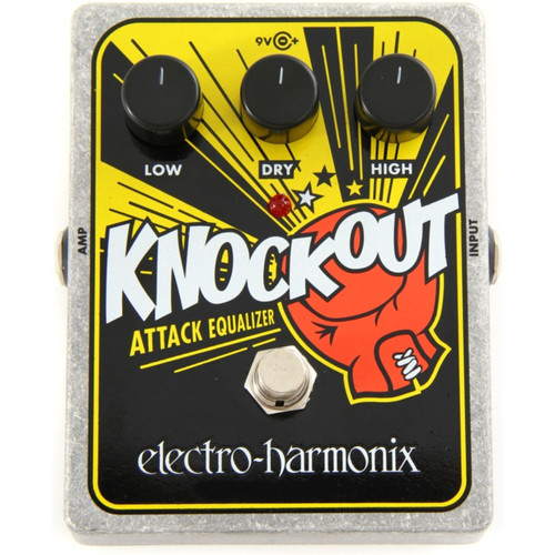Electro-Harmonix Knockout Attack Equalizer Effects Pedal (KNOCKOUT)
