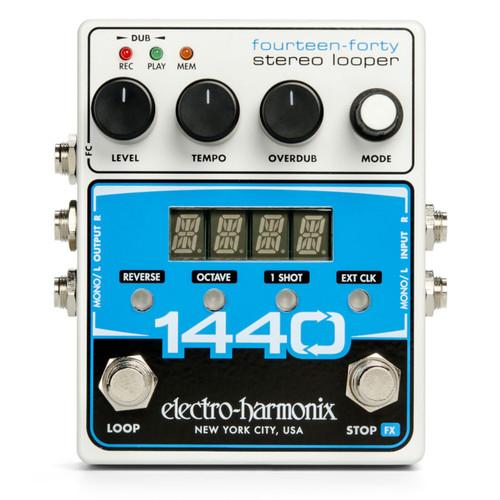 Electro-Harmonix 1440 Stereo Looper Effects Pedal (1440LOOPER)