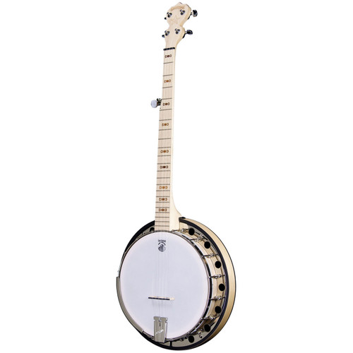 Deering Goodtime Two 5-String Resonator Banjo, Natural Blonde Maple (GDT-G2)