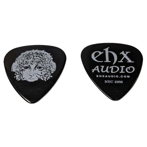 Electro-Harmonix Ram's Head Logo Medium Guitar Picks, Black, Pack of 10 (EHX-PBK-10PK)