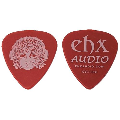 Electro-Harmonix Flashback Logo Heavy Guitar Picks, Red, Pack of 10 (EHX-PRD-10PK)
