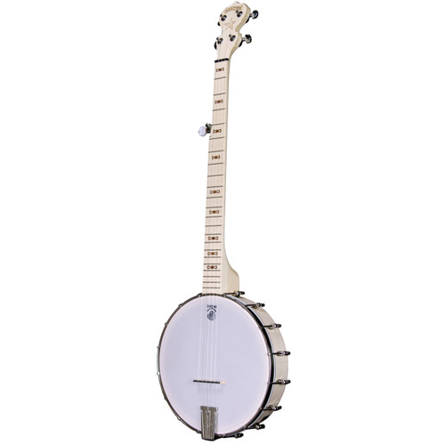 Deering Goodtime Openback 5-String Bluegrass Banjo, Natural Blonde Maple (GDT-G)