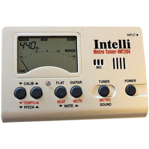 Intelli IMT-204 Digital Metronome, Chromatic Tuner, and Pitch Generator (IMT204)