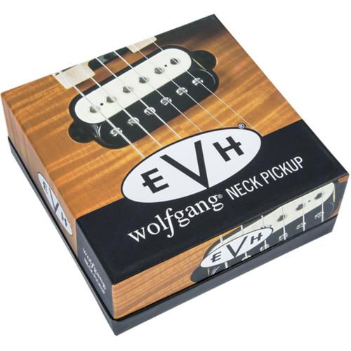 EVH Eddie Van Halen Wolfgang Neck Humbucker Pickup, Black and White (022-2137-001)