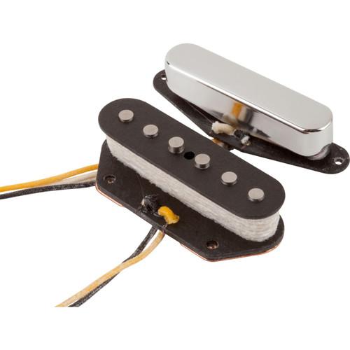 Fender Custom Shop Texas Special Telecaster Pickups, Set of 2, Nickel and Black (099-2121-000)