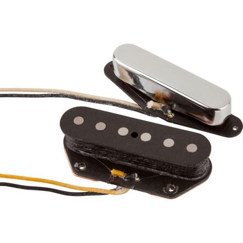 Fender Original Vintage Telecaster Pickups, Set of 2, Nickel and Black (099-2119-000)