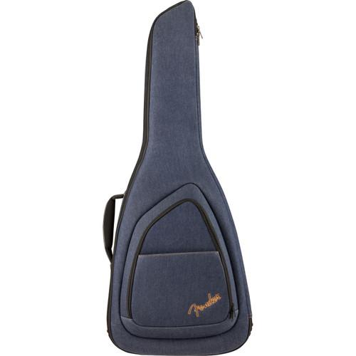 Fender FE920 Denim Electric Guitar Gig Bag with 20mm Padding, Blue Denim (099-1512-402)