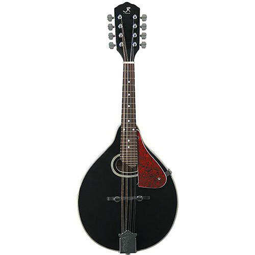 J Reynolds JRMAN30 A-Style Mandolin, Black