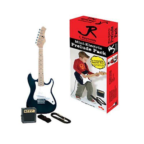 J. Reynolds 1/2 Size Mini-Electric Guitar Prelude Pack (JRPKSTBK)