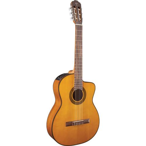 Takamine GC1CE-NAT Classical Acoustic Electric Guitar, Natural (GC1CE-NAT)