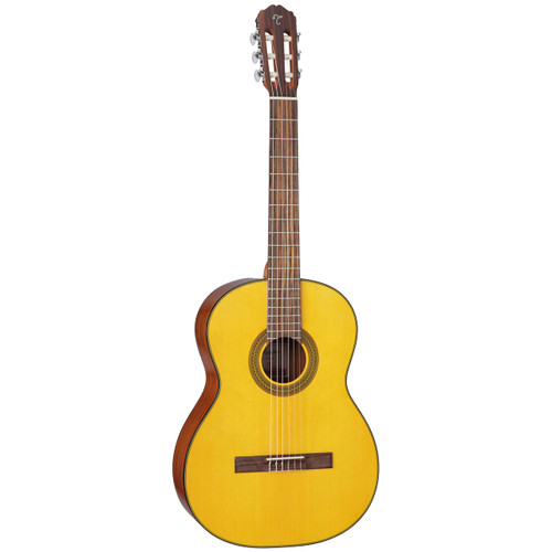 Takamine GC1-NAT Nylon String Classical Acoustic Guitar, Natural
