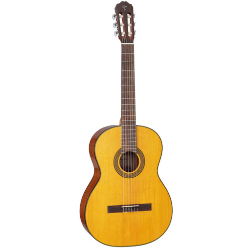Takamine GC3-NAT Solid Spruce Top Nylon-String Classical Acoustic Guitar, Natural