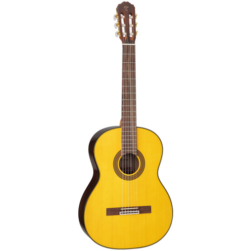 Takamine GC5-NAT Solid Spruce Top Classical Acoustic Guitar, Natural