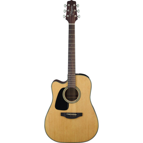 Takamine GD10CELH-NS Left Handed Dreadnought Acoustic Electric Guitar, Natural