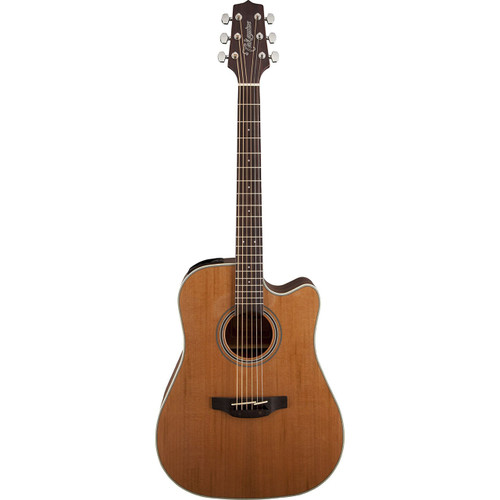 Takamine GD20CE-NS Dreadnought Acoustic Electric Guitar, Natural Satin