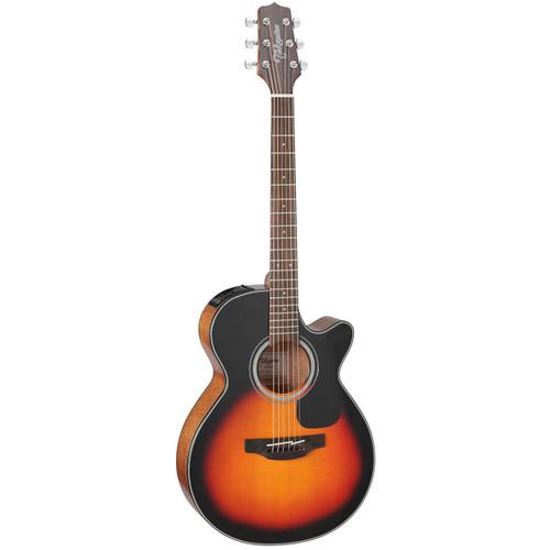 Takamine GF30CE-BSB FXC Cutaway Acoustic Electric Guitar, Brown Sunburst