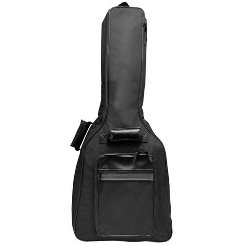 Perfektion PM410 Deluxe Padded Electric Guitar Gig Bag, Black