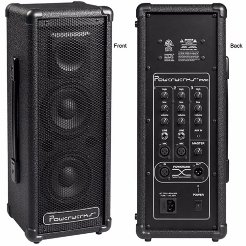 Powerwerks PW50 Self-Contained 50-Watt Personal PA System with Powerlink