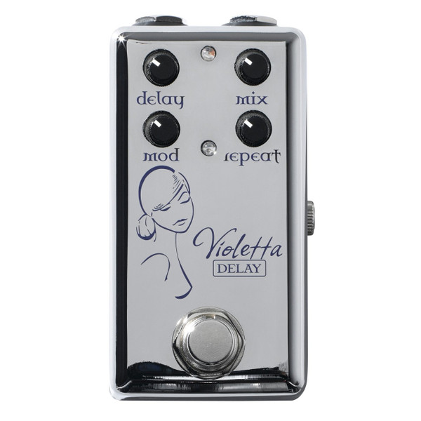 Red Witch Violetta Modulated Delay Guitar Effects Pedal