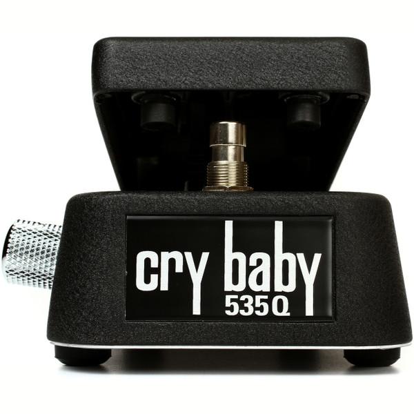 Dunlop 535Q Cry Baby Multi-Wah Guitar Effects Pedal, Black (535Q-B)