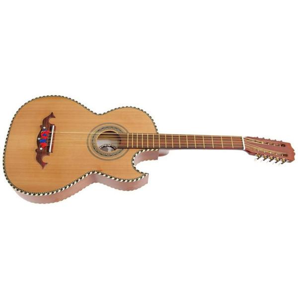 Paracho Elite Odessa 10-String Bajo Quinto Acoustic Guitar w/ Solid Cedar Top