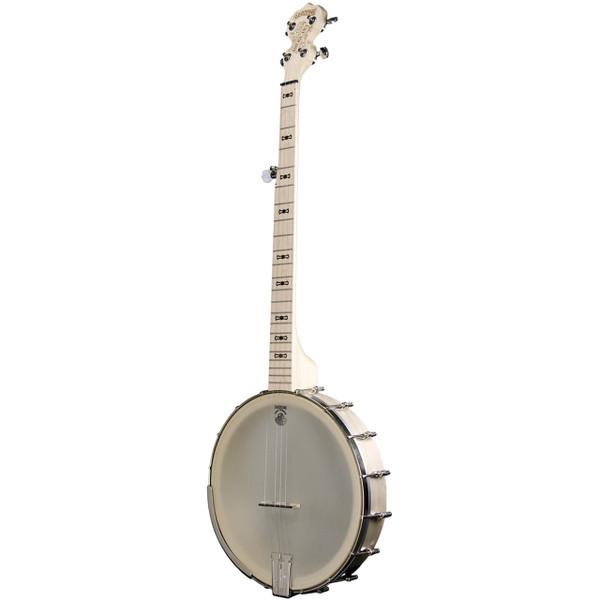 "Deering Goodtime Americana 5-String Openback Banjo with Grand 12"" Rim, Natural Blonde Maple"