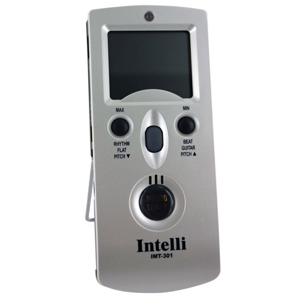 Intelli IMT-301 Digital Metronome, Chromatic Tuner, Pitch Generator, and Temperature/Hygrometer Meter (IMT301)