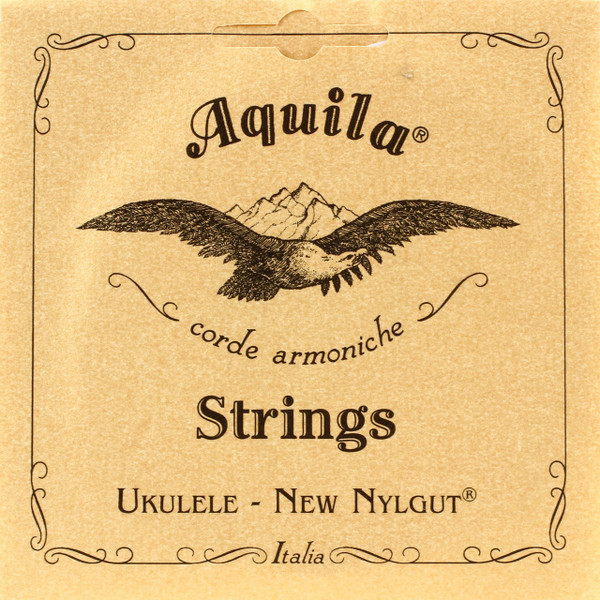 Aquila 7U New Nylgut Concert Ukulele Strings, High G