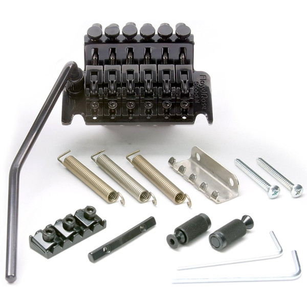 Floyd Rose FRTS2000R2 Special Series Tremolo Bridge System with R2 Nut, Black