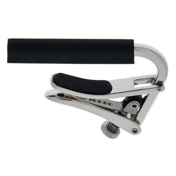 Shubb C2 Standard Capo for Nylon String Classical Guitars, Polished Nickel (SH-C2)
