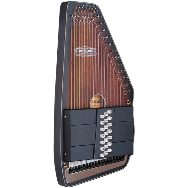 "Oscar Schmidt OS11021AE ""The Americana"" Acoustic Electric Autoharp"