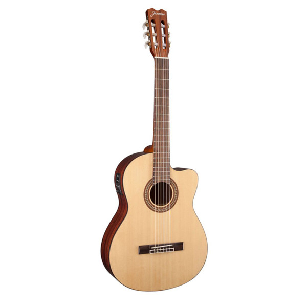 Jasmine JC25CE-NAT Classical Acoustic Electric Guitar, Natural