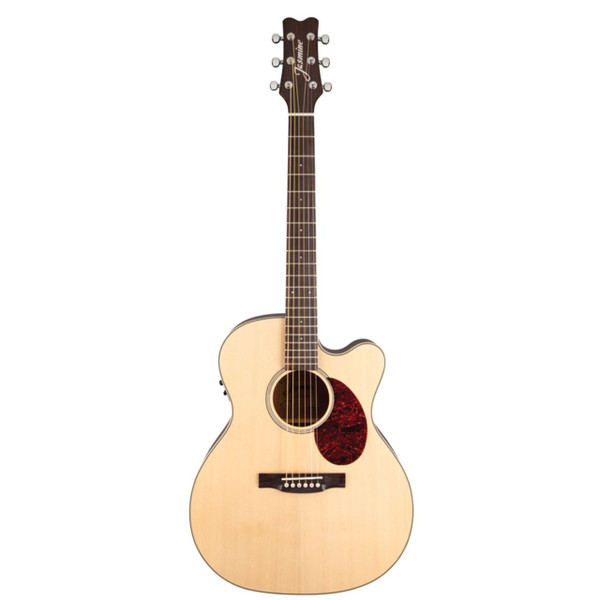 Jasmine by Takamine JO37CE Orchestra Style Acoustic Electric Guitar, Natural (JO37CE-NAT)