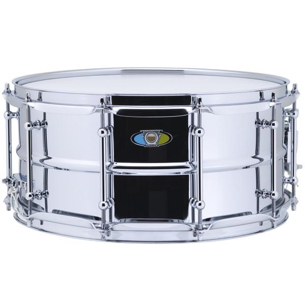 "Ludwig LW6514SL Supralite Steel Snare Drum, 6.5"" x 14"""