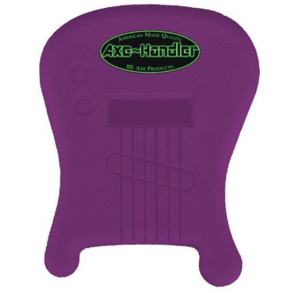 """Axe-Handler """"Strings-In"""" Portable Guitar Stand w/ Pick Holder, Purple (AX-SI-PUR)"""
