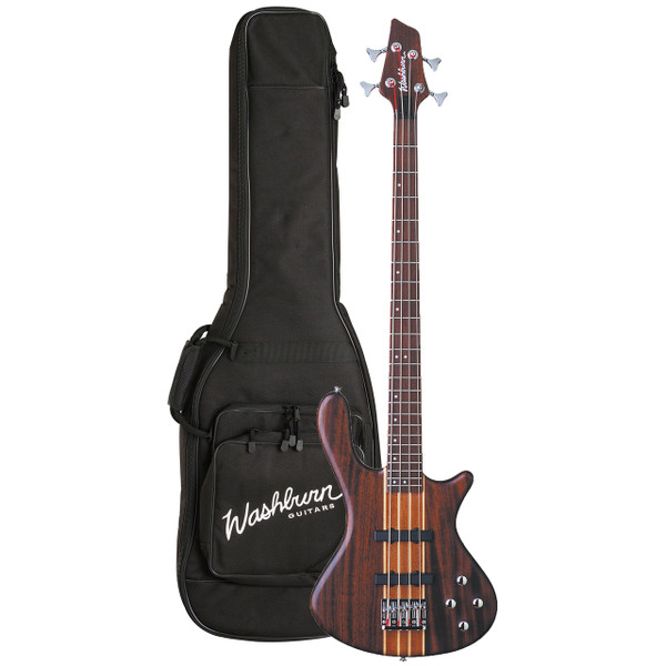 Washburn T24NMK Taurus Series 4-String Electric Bass Guitar w/ Gig Bag