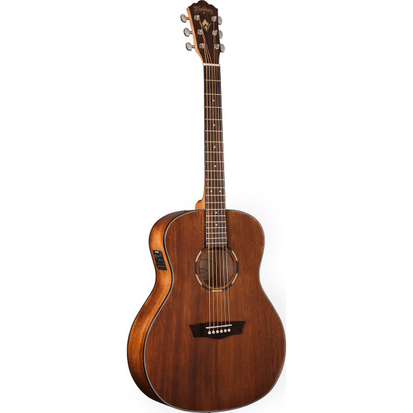 Washburn Woodline WLO12SE Solid-Top Orchestra Body Acoustic Electric Guitar