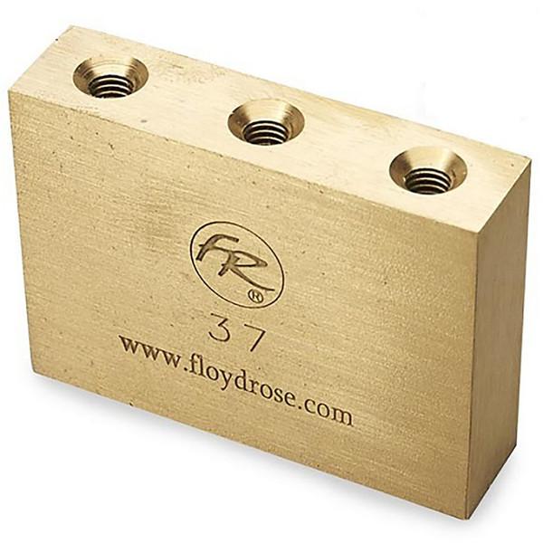 Floyd Rose 37mm Original Fat Brass Tremolo Sustain Block, FROFTB37