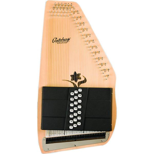 Oscar Schmidt OS45C Appalachian 21-Chord Autoharp, Natural