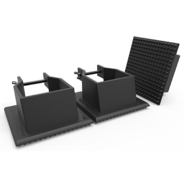 KBrakes HiStops Hi-Hat, Cymbal and Hardware Stand Anchors, Set of 3
