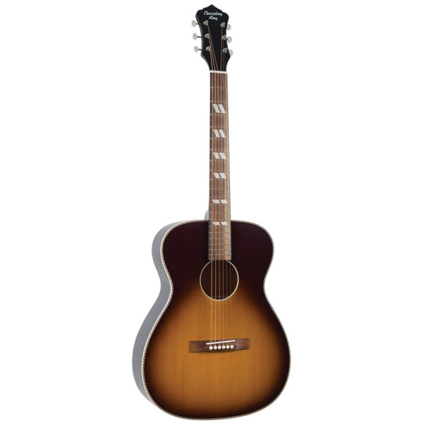 Recording King ROS-7-TS Dirty 30's 000-Style Acoustic Guitar, Tobacco Sunburst