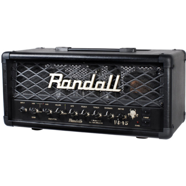 Randall RD45H Diavlo 45-Watt 2-Channel Tube Guitar Amplifier Head with Footswitch