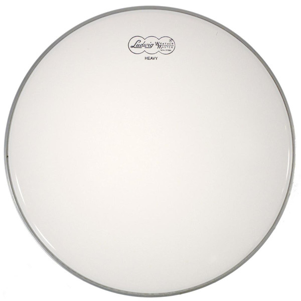 """Ludwig LW4313 Weather Master Coated 13"""" Heavy Weight Batter Drum Head"""