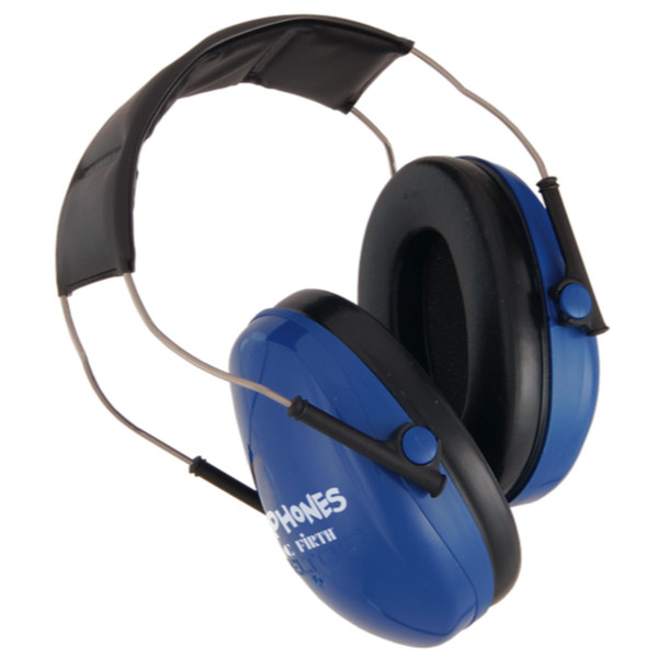 Vic Firth KIDP Kidphones Noise Reducing Isolation Headphones, Blue